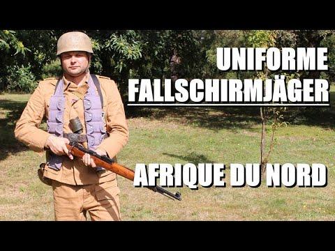Fallschirmjäger FJR5 Afrique du Nord – Présentation d'uniforme