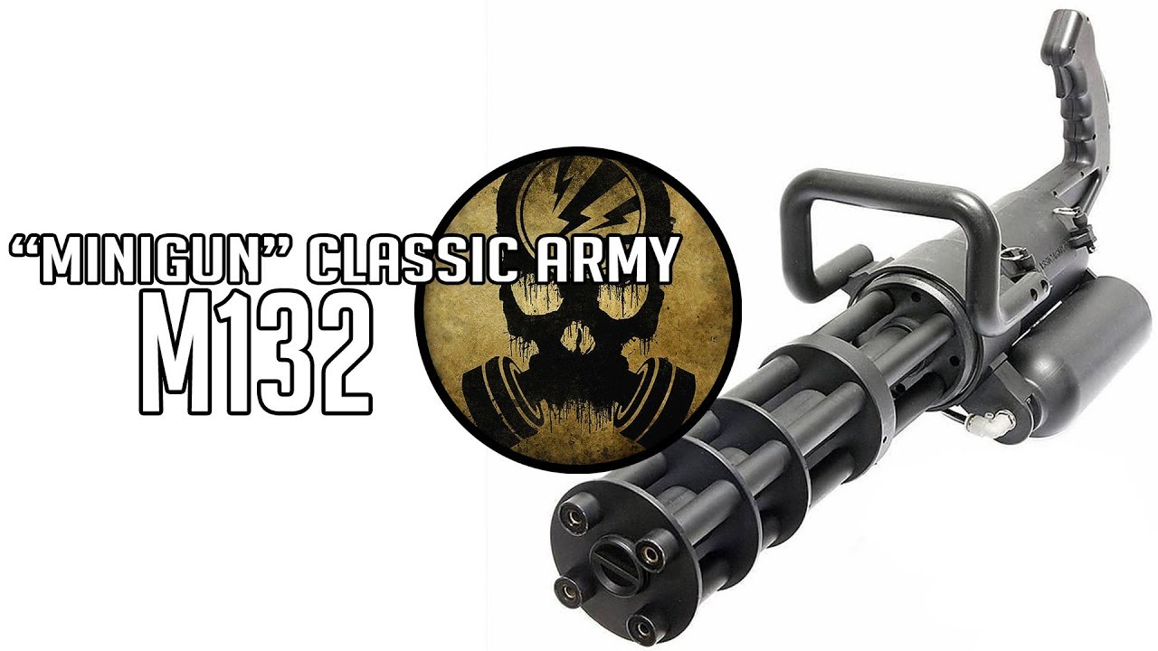 M132 Classic Army · Test Airsoft [ENG SUBS]