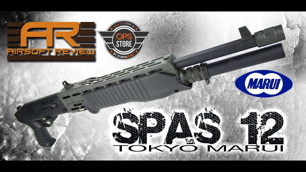SPAS 12 TOKYO MARUI [ OPS STORE ] / AIRSOFT REVIEW