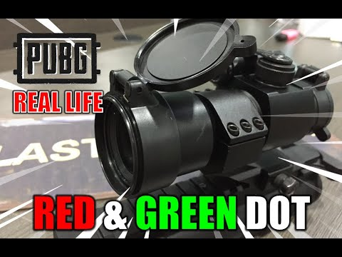 RED & GREEN DOt (Déballage et révision) – Blasters Mania