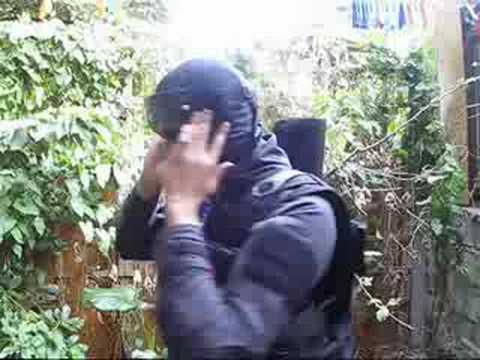 Examen du masque en mesh Airsoft (Army of Two)
