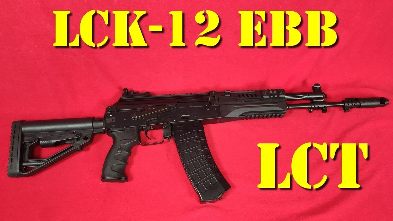 Airsoft – LCT – LCK-12 Electric blow-back [French]