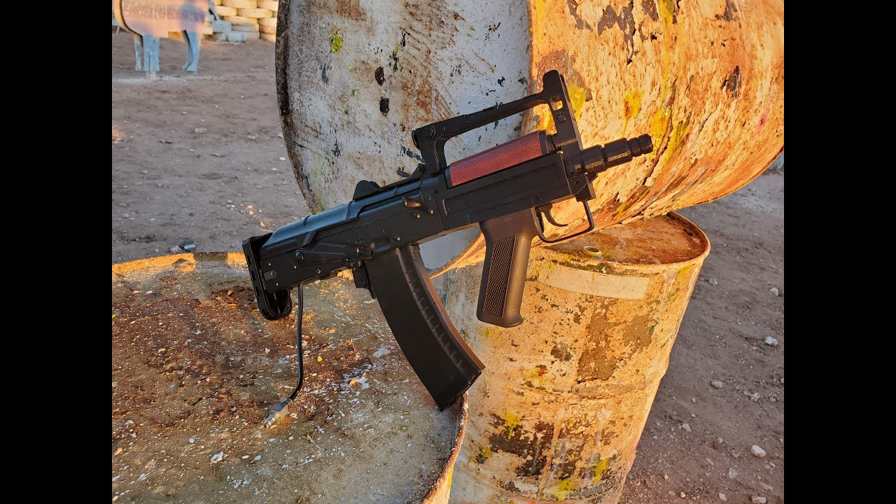 TUTORIEL D'ASSEMBLAGE AIRSOFT AEG / HPA OTS-14 GROZA