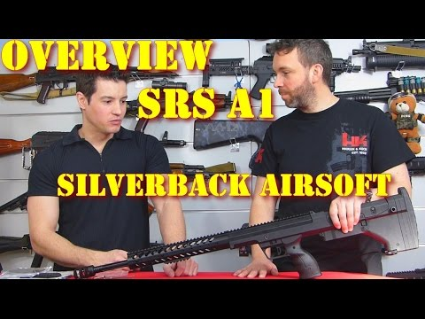 Airsoft – Airsoft Entrepot – Silverback/Desert Tech SRS A1 [French]