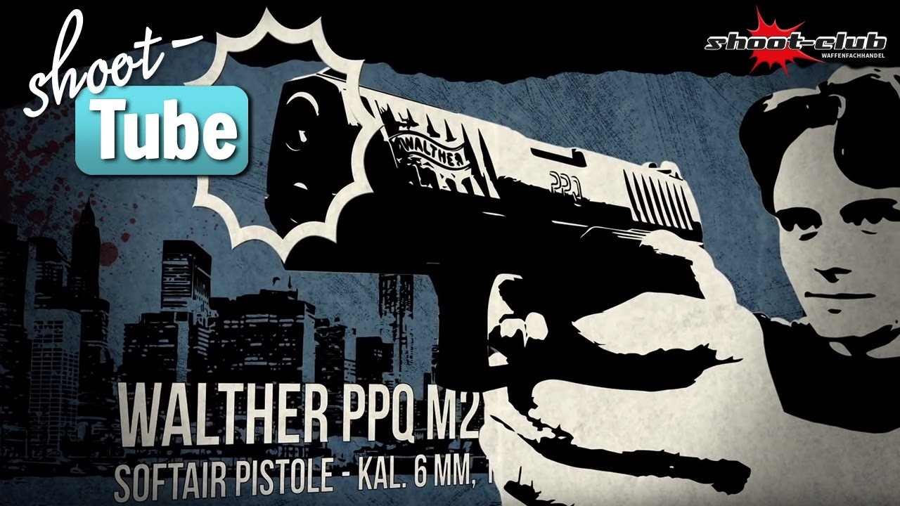 Walther PPQ Airsoft, 6 mm, GBB – test du shoot-club