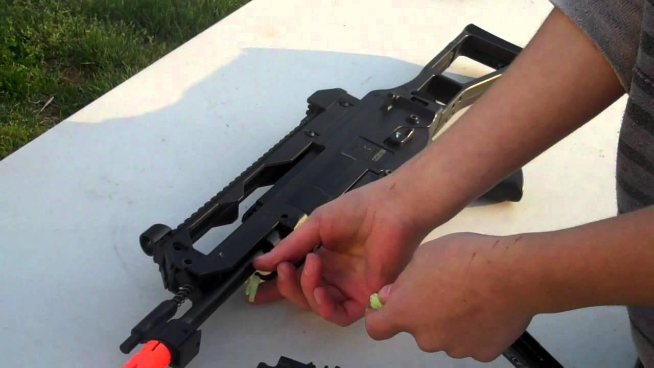 Revue du pistolet airsoft Heckler & Koch G36C