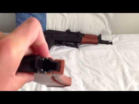 Test du CyberGun AK 74U (Airsoft)
