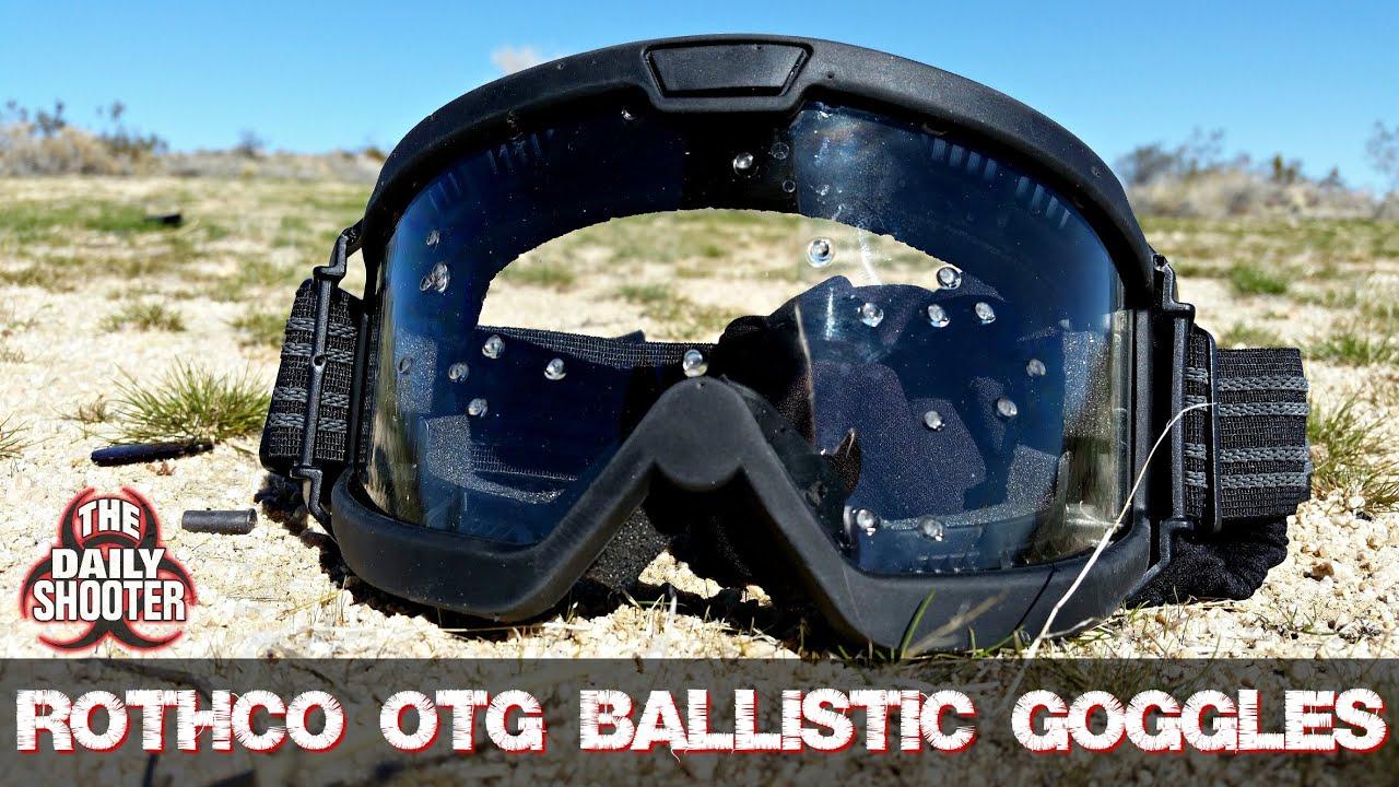 Lunettes balistiques Rothco OTG Vs. Test et révision de la jauge 12