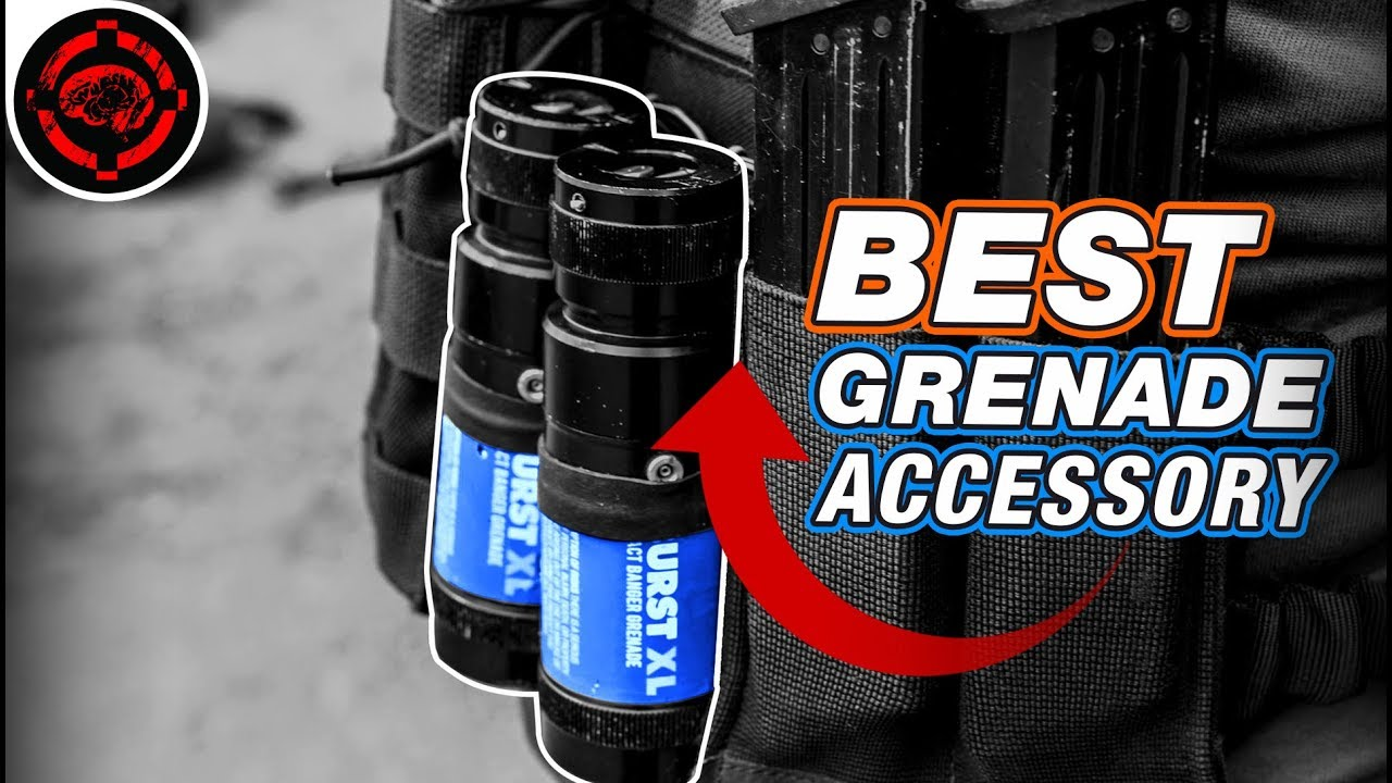 Burst XL Grenade Carrier, Instant Grab and Toss