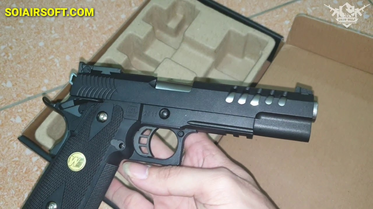 SOIAIRSOFT.COM – WE Hi-capa type 5.1 K OPS airsoft abordable