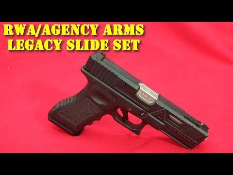 Airsoft – RWA/Agency Arms Legacy Slide Set pour G17 Marui/WE [ENG sub]