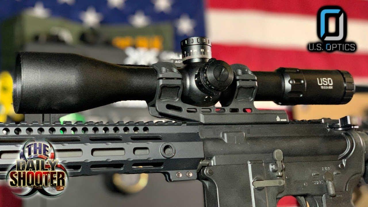 US Optics TS20X FFP Perfection à longue portée
