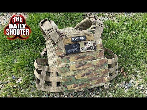 Revue du support de plaque Agilite Tactical K5