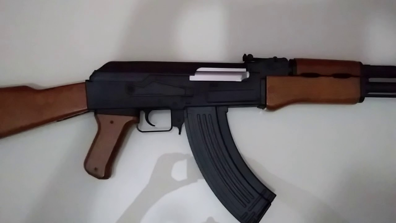 AIRSOFT AK 47 SPRING CYBERGUN FUZIL (Personnalisation)