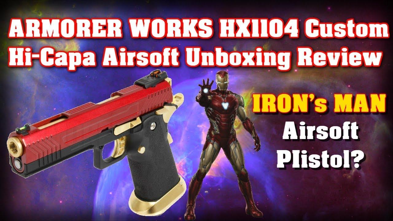 ARMORER WORKS HX1104 Revue de déballage Airsoft Hi-Capa personnalisée