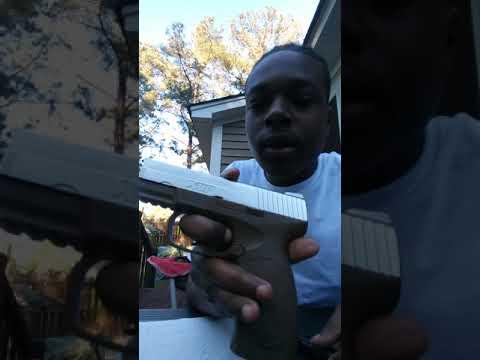 Examen du pistolet XCP Airsoft (pistolet Airsoft du marché aux puces) 30 $ en acier tirant BB