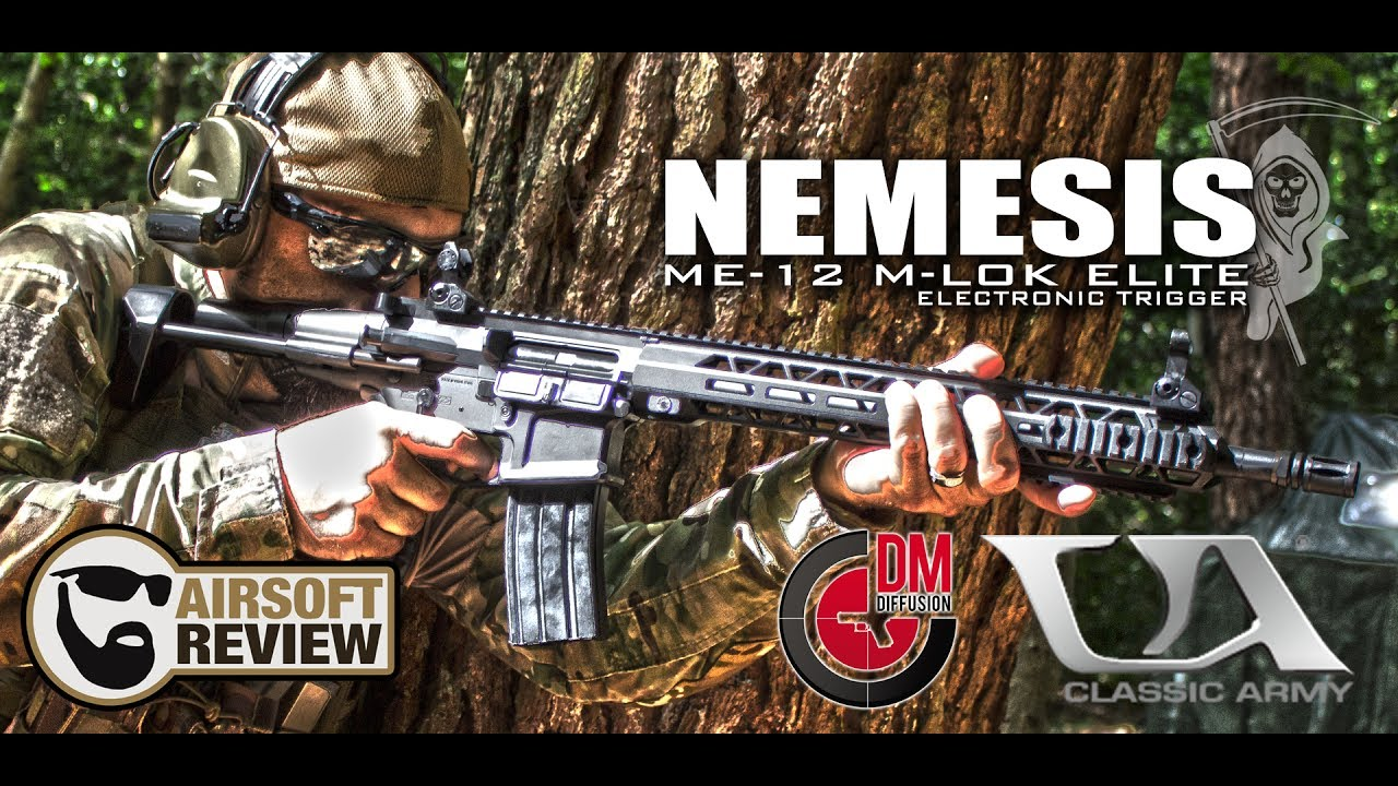 NEMESIS ME-12 MLOK ELITE # CLASSIC ARMY / DM DIFFUSION # AIRSOFT REVIEW