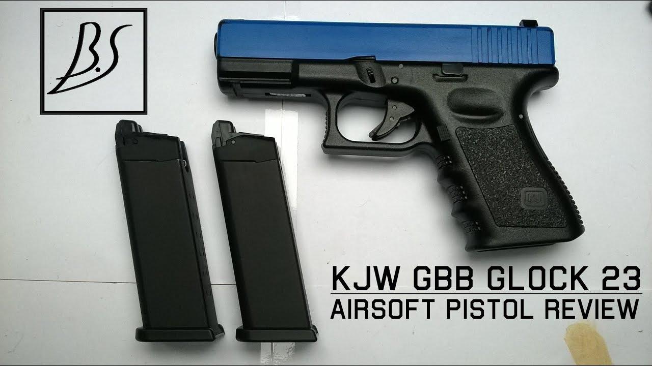Critique d'Airsoft | GBB Glock 23 par KJ Works