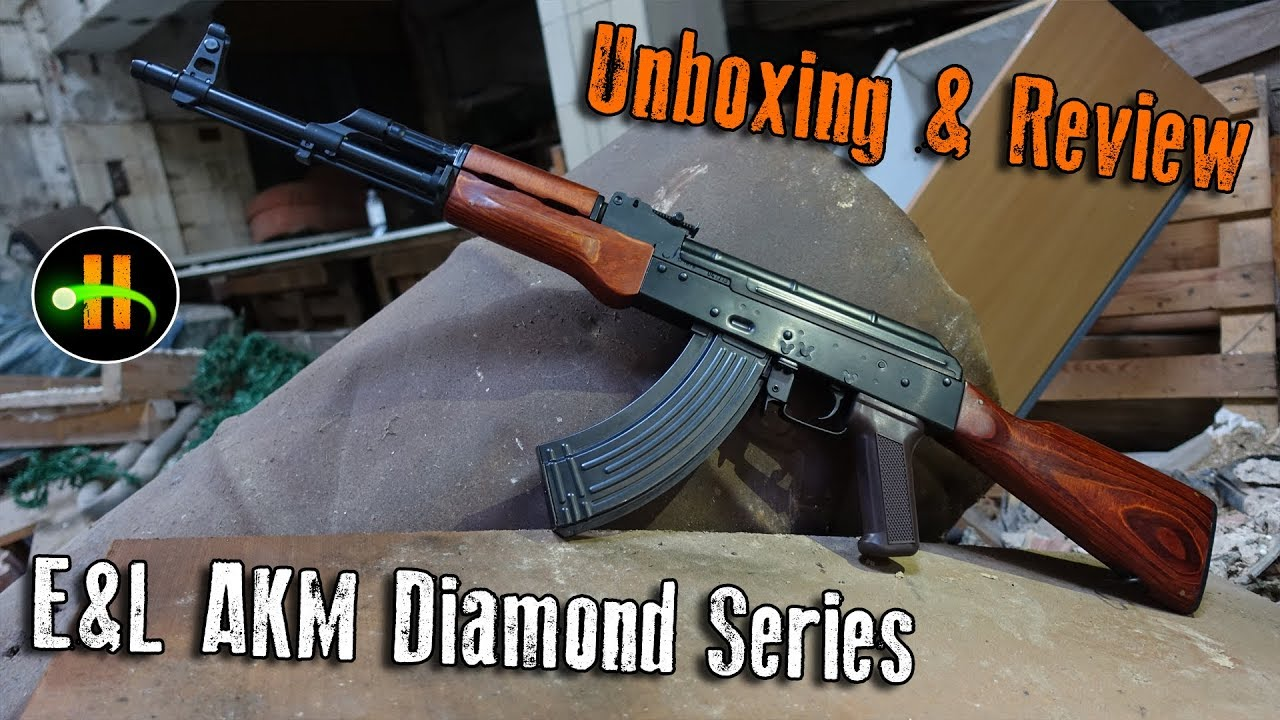 "E&L AKM ""Diamond Series"" S-AEG   Déballage et révision   Highlander Airsoft"