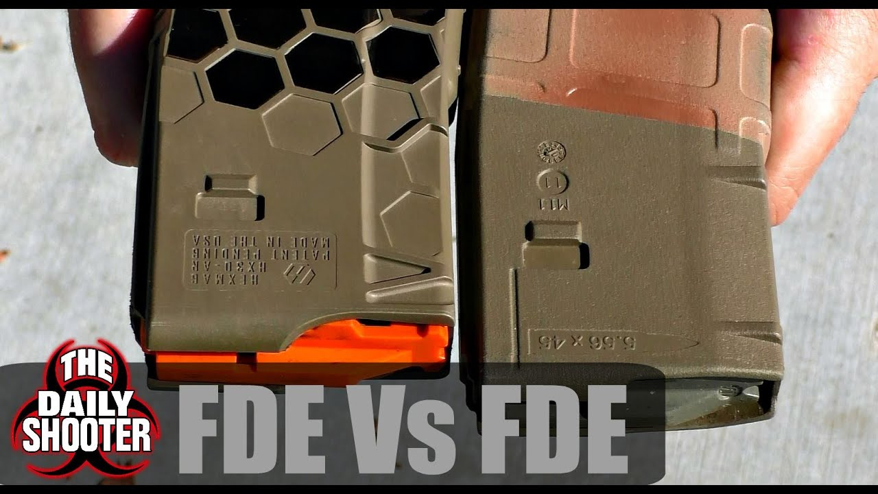 Magpul FDE Vs. Hexmag FDE sont-ils différents?