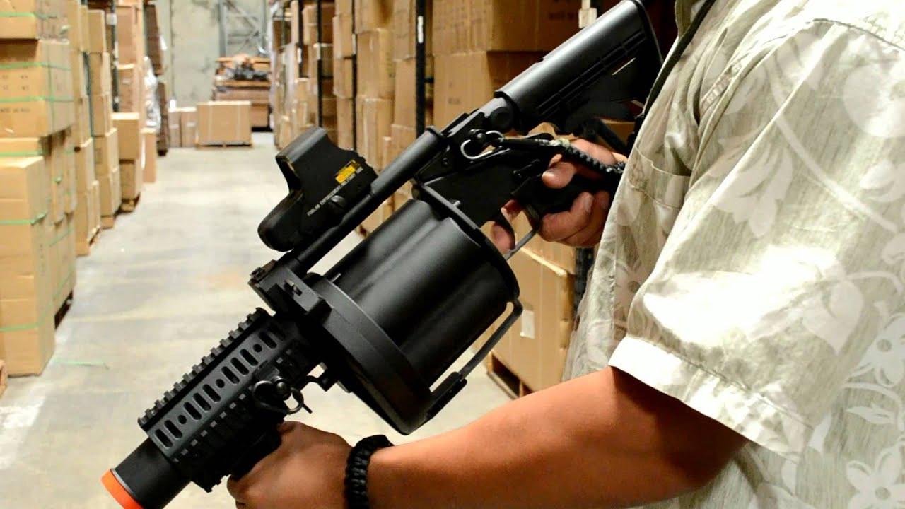 Avis sur Airsoft Megastore! ICS-GLM Grenade Launcher Product Review