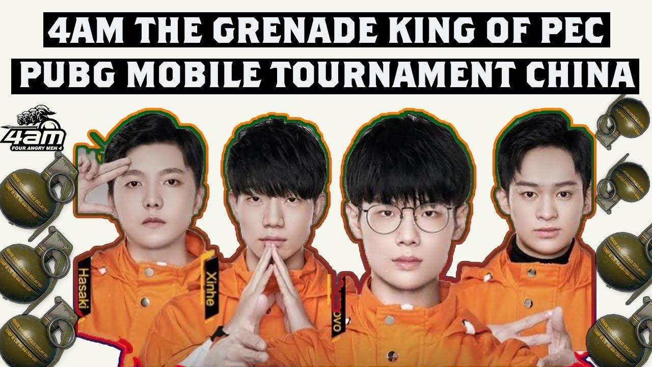 4AM Le roi de la grenade de PEC (Peacekeeper Elite Championship) Chine // Meilleur combat à courte portée de 4AM