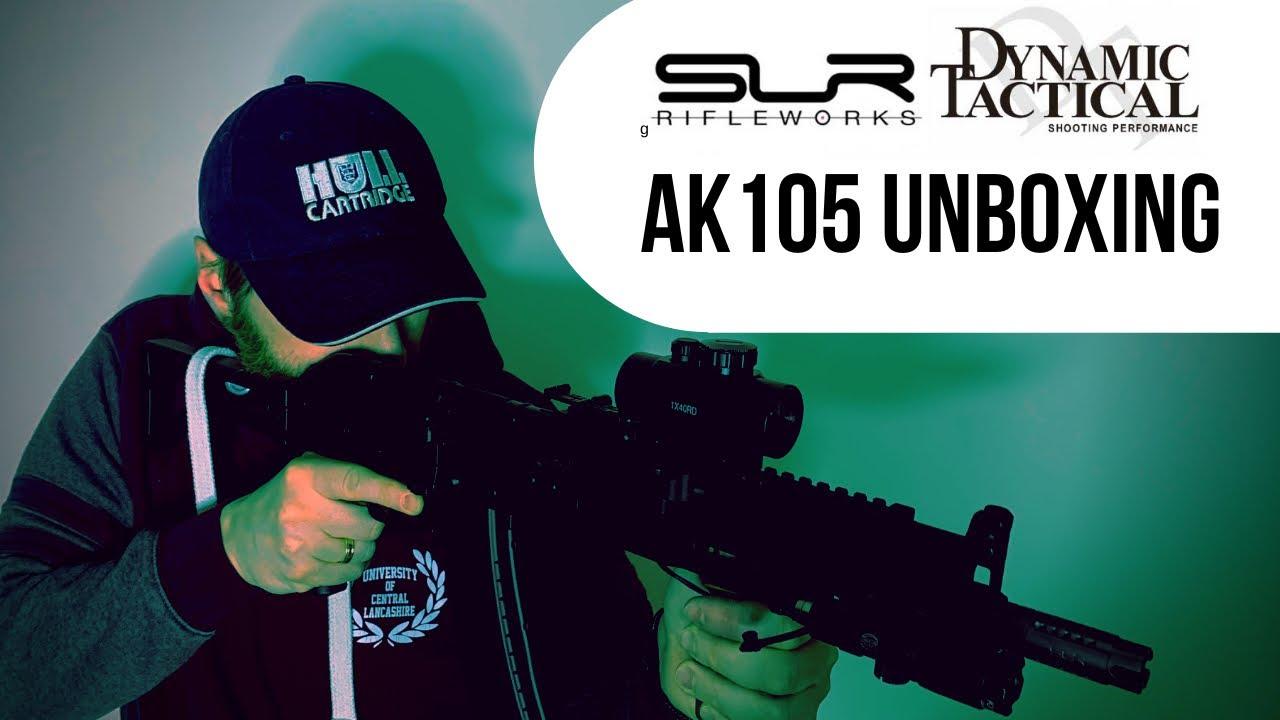 DYTAC SLR AK105 AIRSOFT FONCTIONNE UNBOXING ET PREMIÈRES IMPRESSIONS!