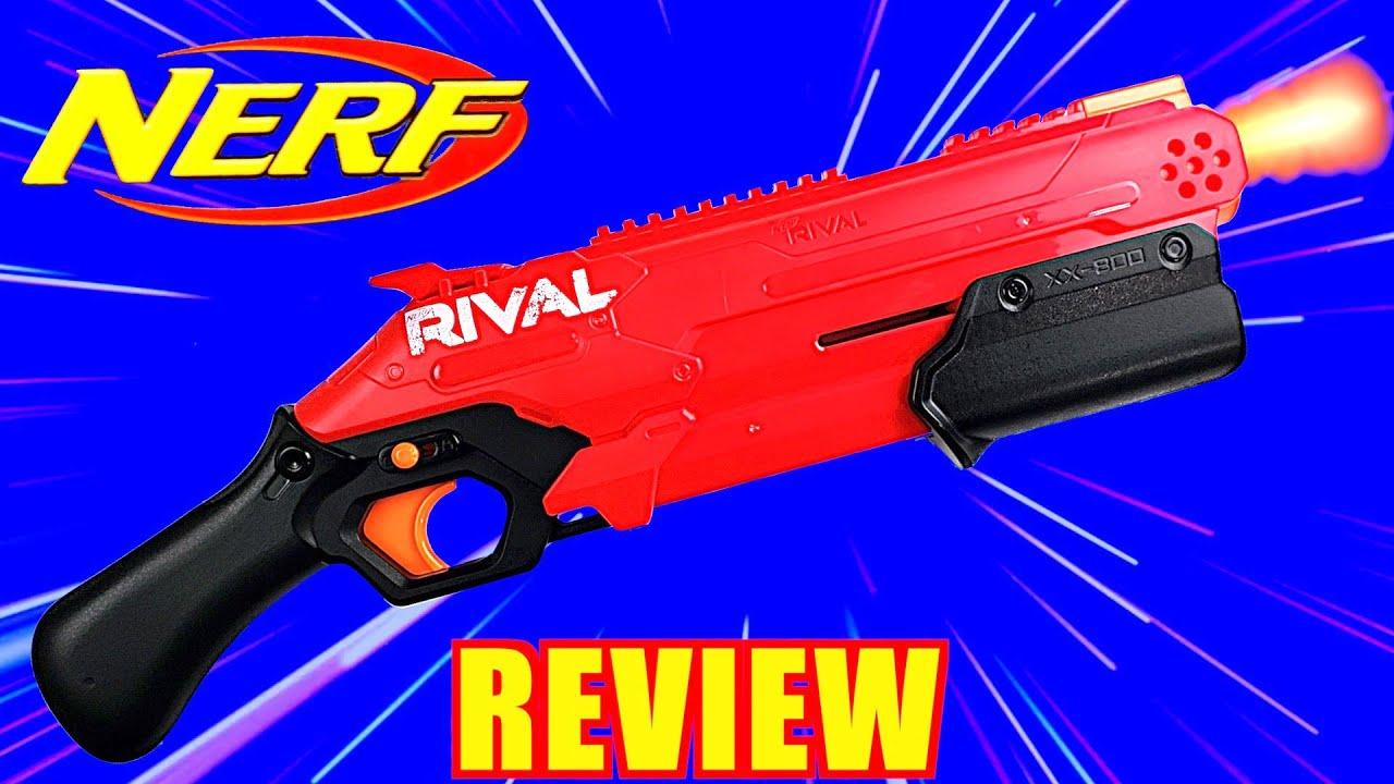 [REVIEW] NOUVEAU Nerf RIVAL Takedown – Fusil à pompe tactique Nerf!