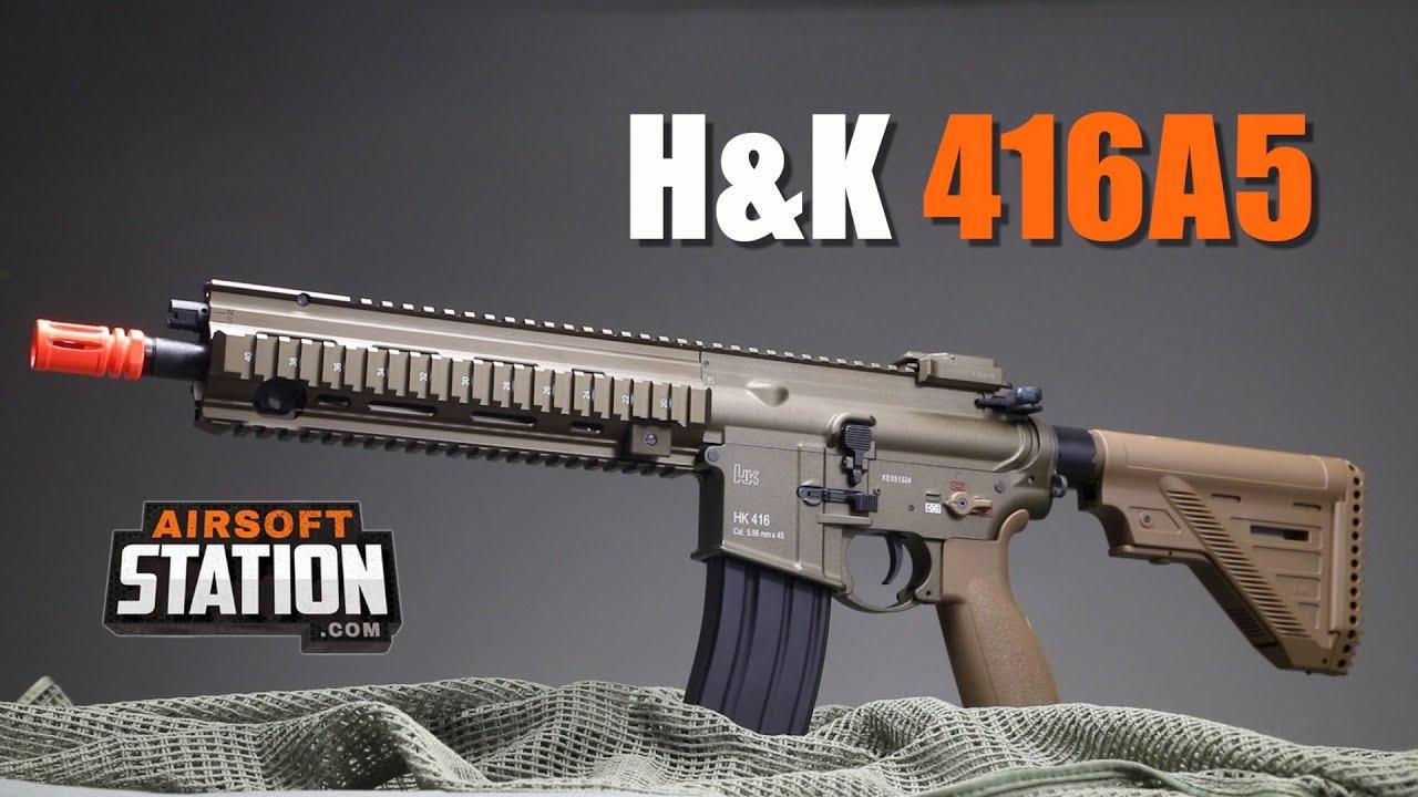 Le H & K416 A5, la couronne de votre collection Airsoft.