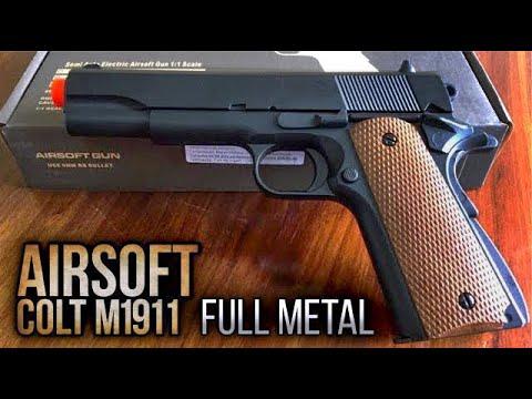 UNBOXING Colt M1911 Full Metal AR + – Mon premier Airsoft
