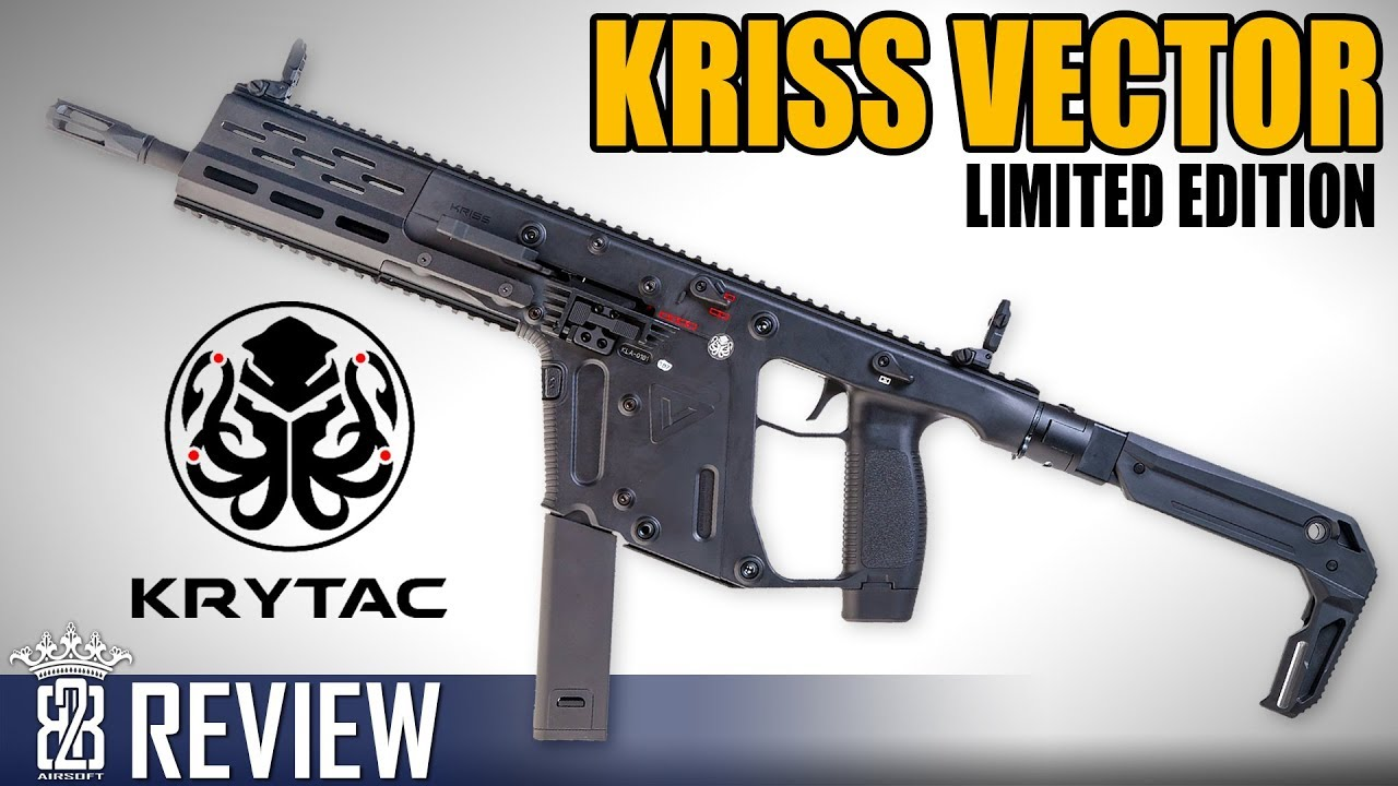 Krytac Kriss Vector Limited Edition Airsoft Review – 3000 dans le monde
