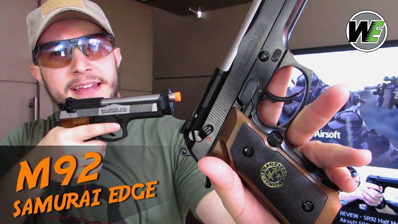 REVUE – M92 Samurai Edge | Airsoft WE GBB (PT-BR)
