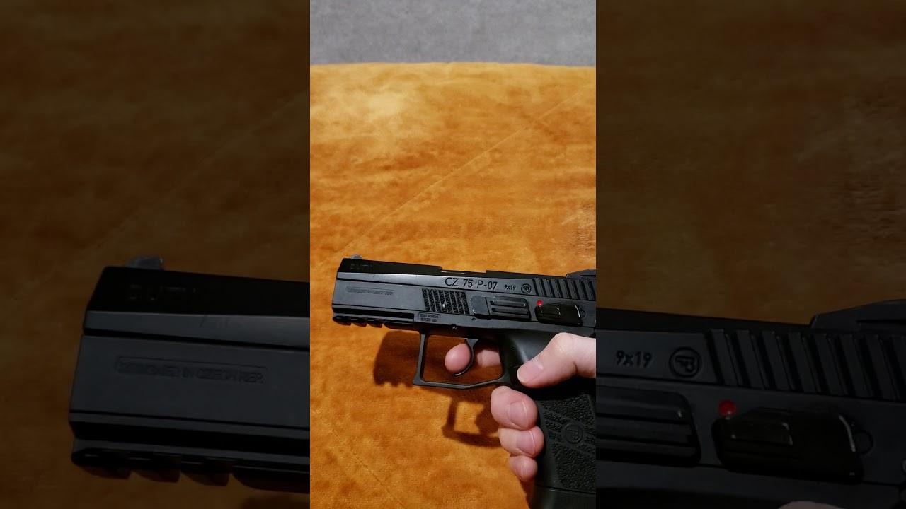 Revue / Problème de pistolet airsoft ASG CZ 75 P-07
