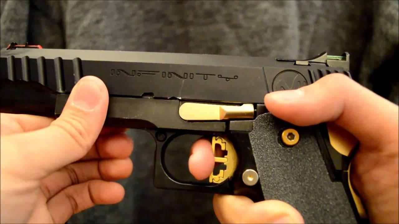 (Airsoft) Tokyo Marui Hi-Capa 5.1 SV Infinity Custom Race Gun