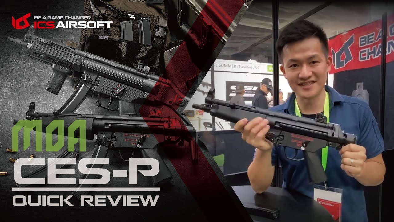 Exposition MOA 2019│CE-P Quick Review│ICS Airsoft