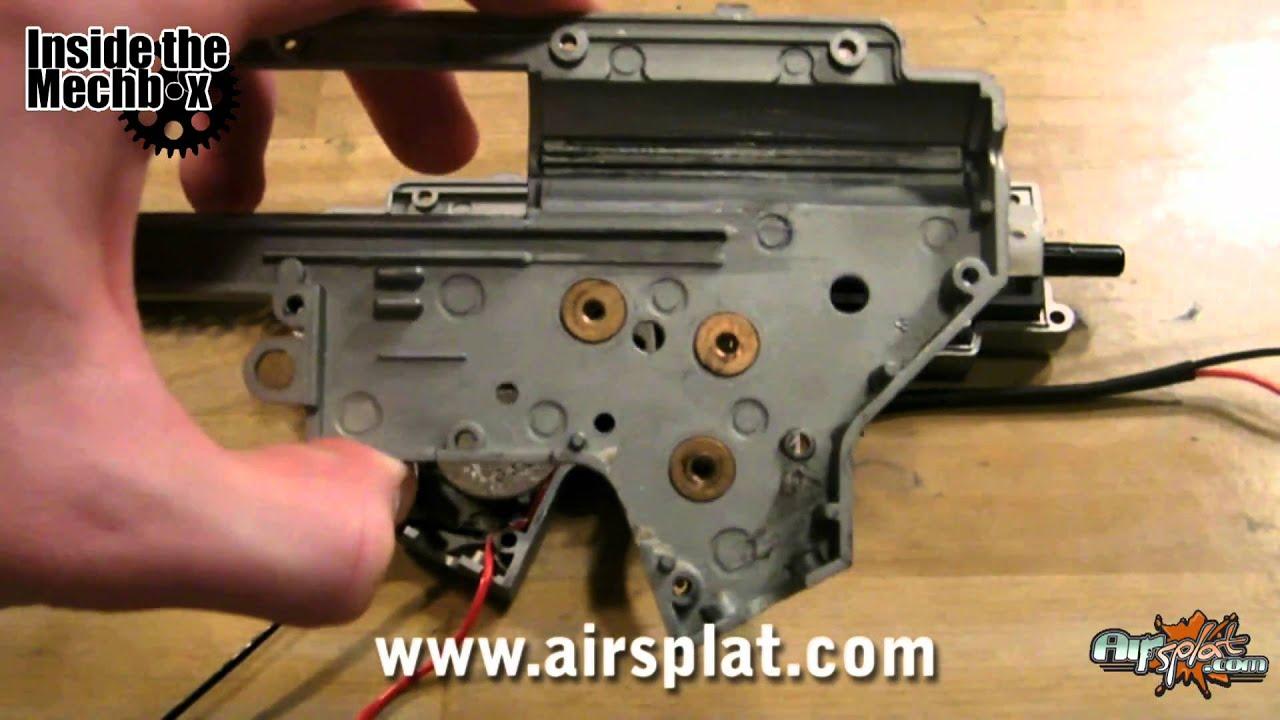 Inside The Mechbox: G&G Combat Machines M4 Airsoft Gun AEG Internals Review Épisode 6