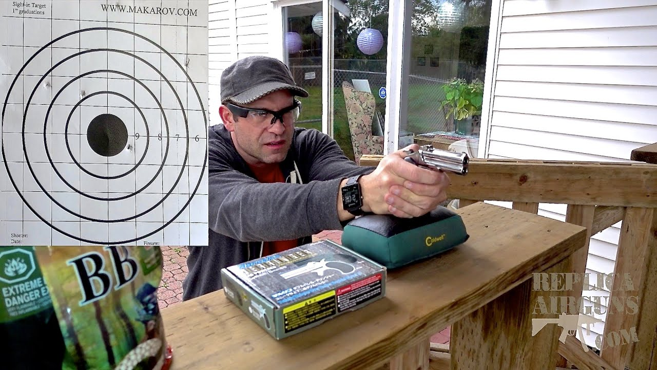ASG – Marushin Chrome Derringer 6mm Gas Airsoft Pistol Field Test Review