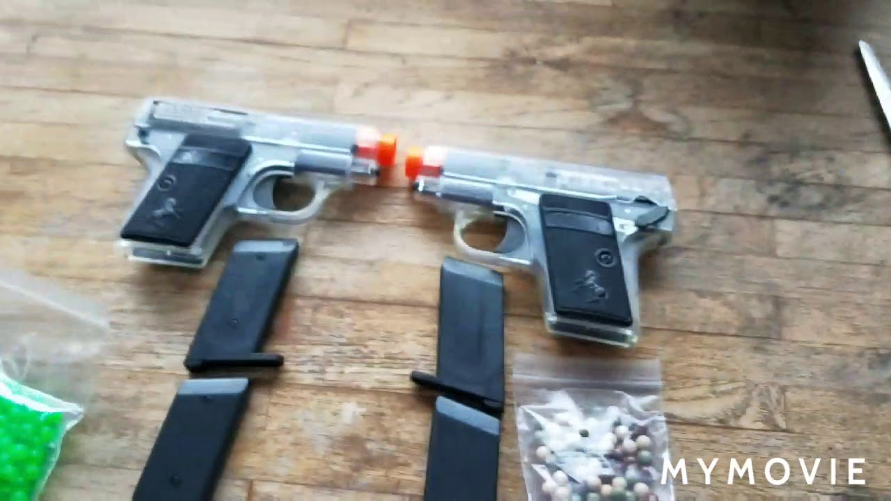 Colt 25 twin pack airsoft déballage et revue