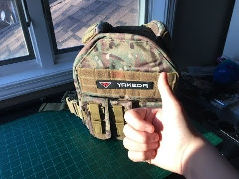 Overlook / Review on The Yakeda tactical Airsoft vest (Idéal pour les débutants)