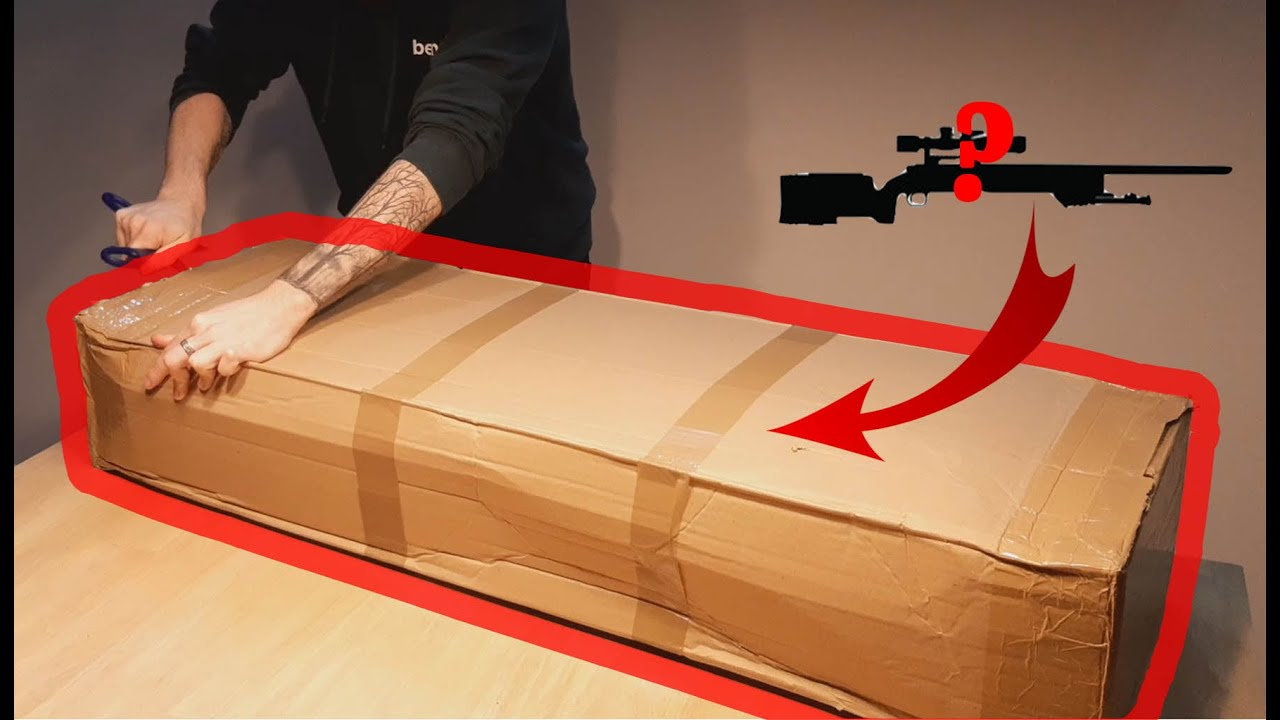 AIRSOFT UNBOXING / BEST COMPACT SNIPER RIFLE
