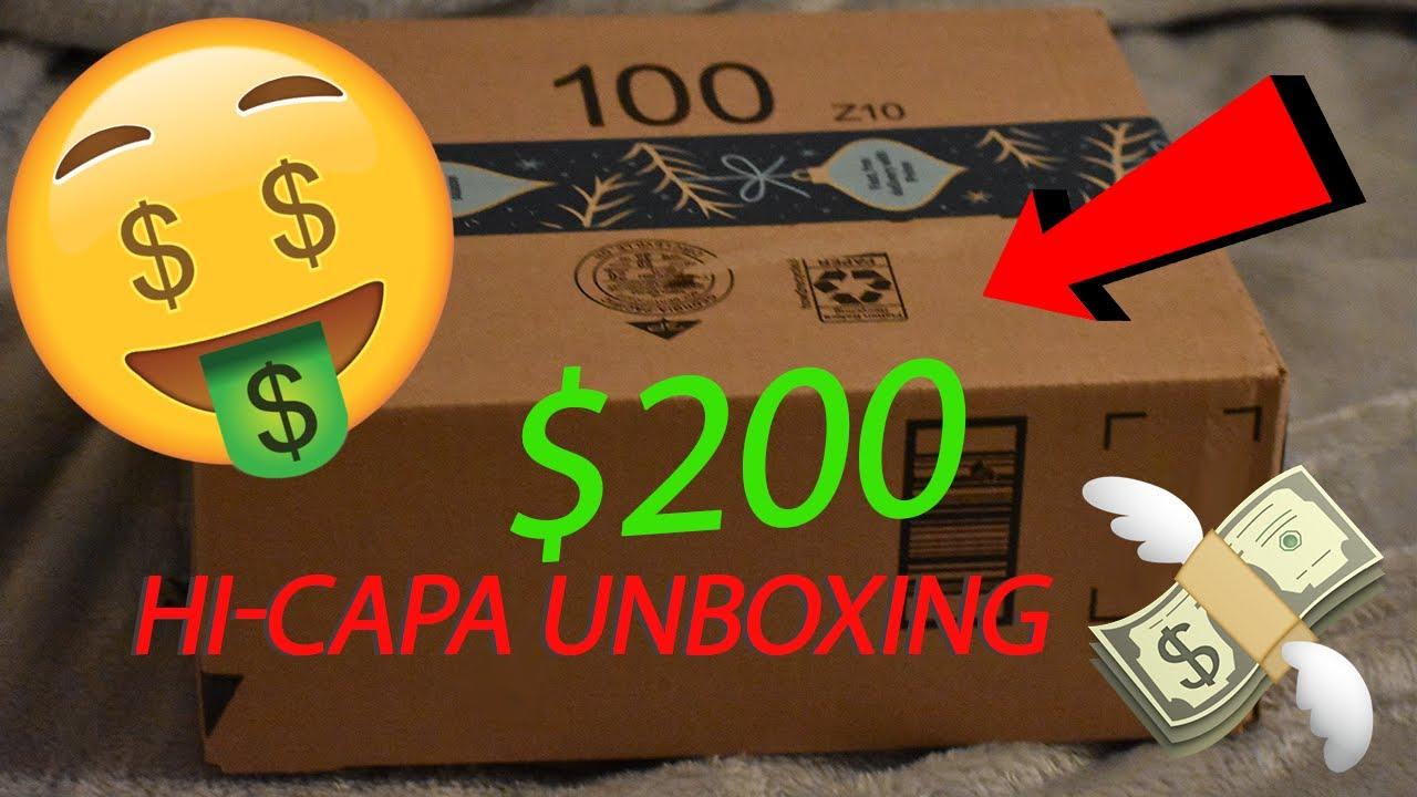 INSANE AIRSOFT UNBOXING   200 $ Hi-Capa Build!