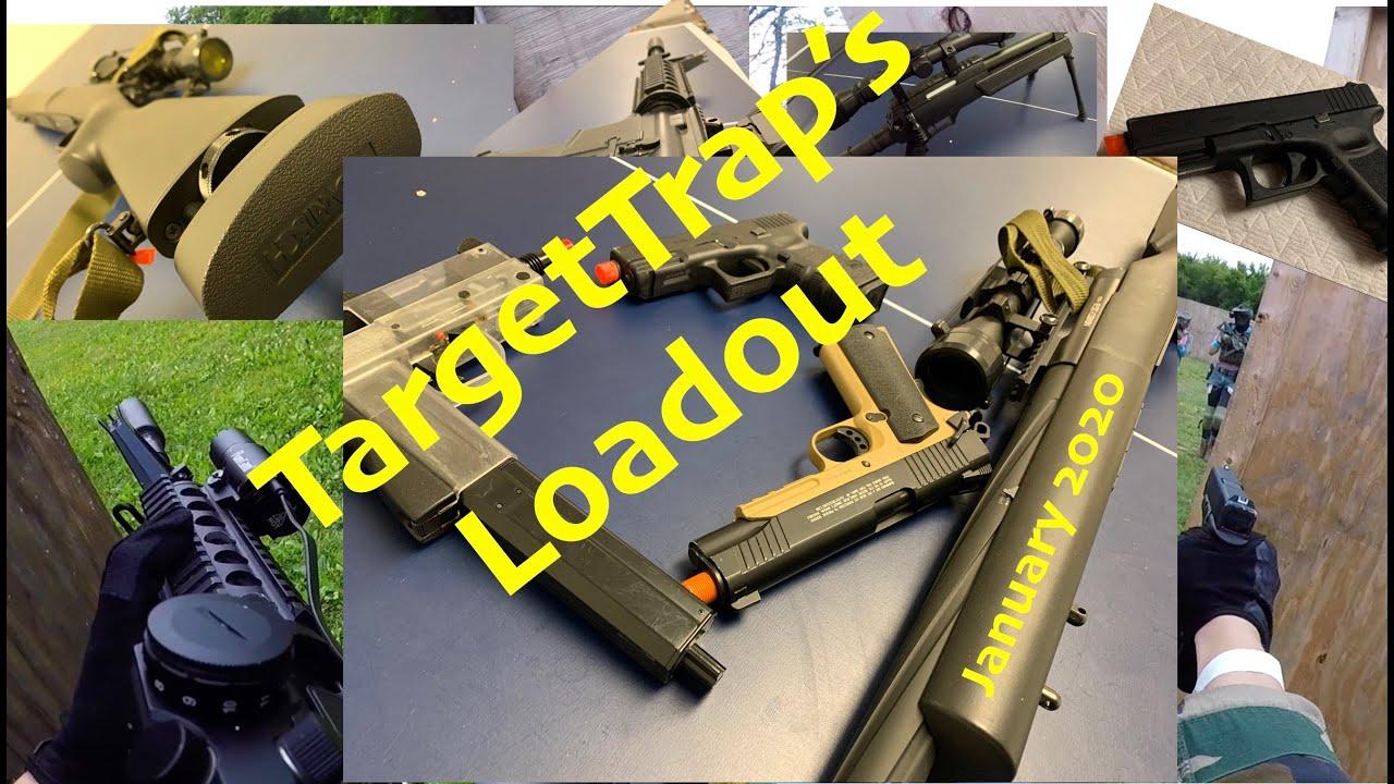 Explication de tous mes pistolets Airsoft