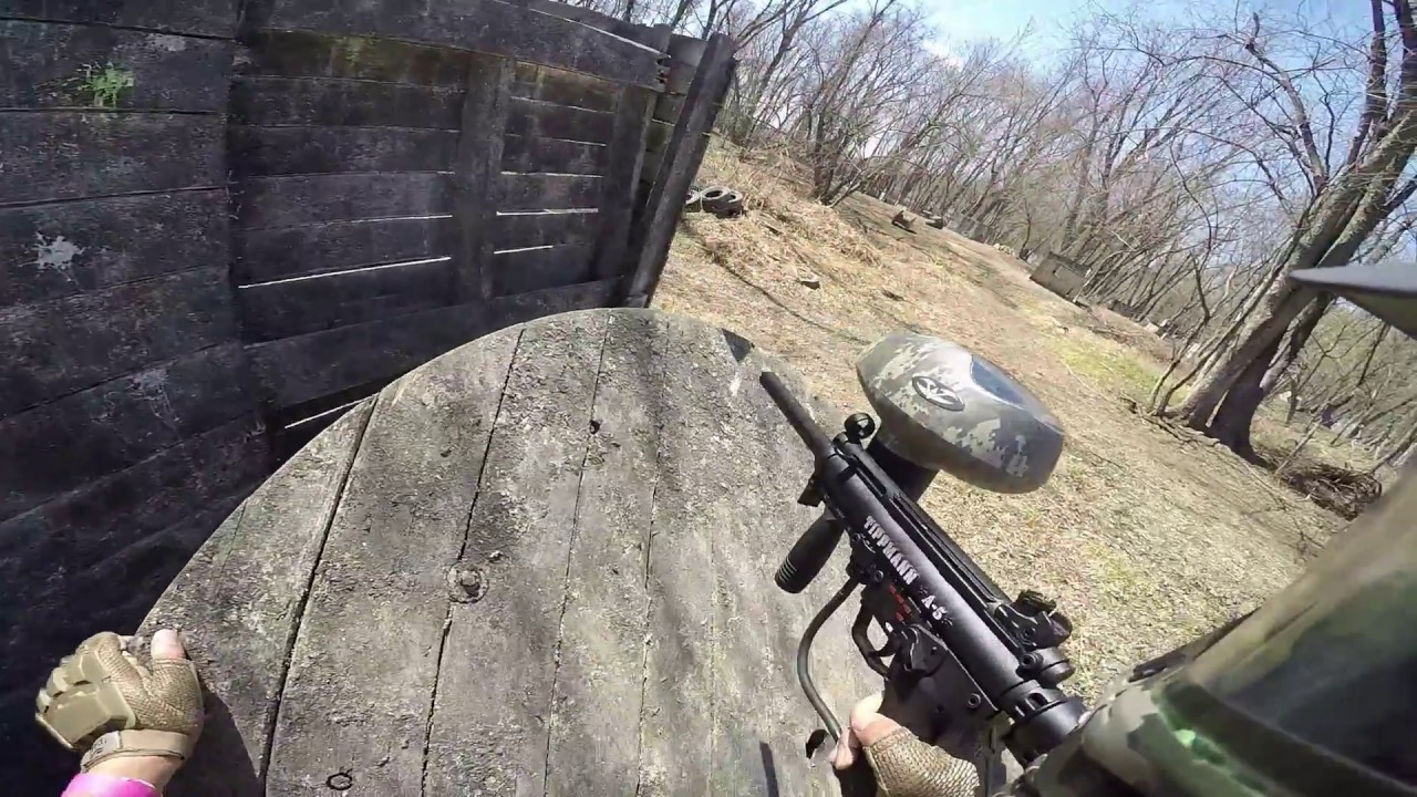 Tippmann A-5 Paintball Game with Flatline Barrel – 2 jeux