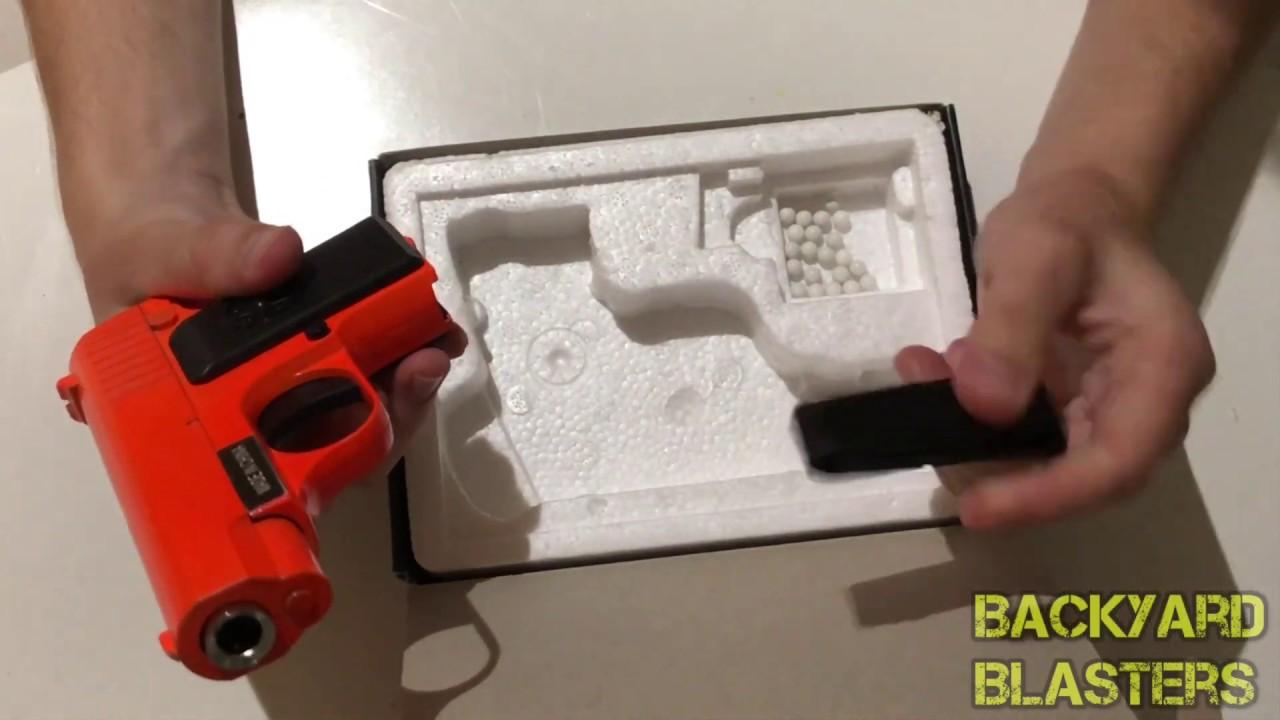 [REVIEW] Pistolet Airsoft en métal James Bond G11 300 FPS