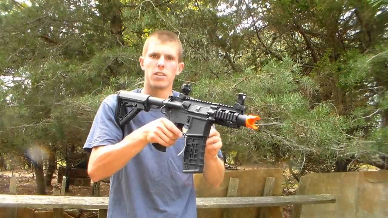 Critique de l'Airsoft G&G Armament Fire Hawk CQB M4