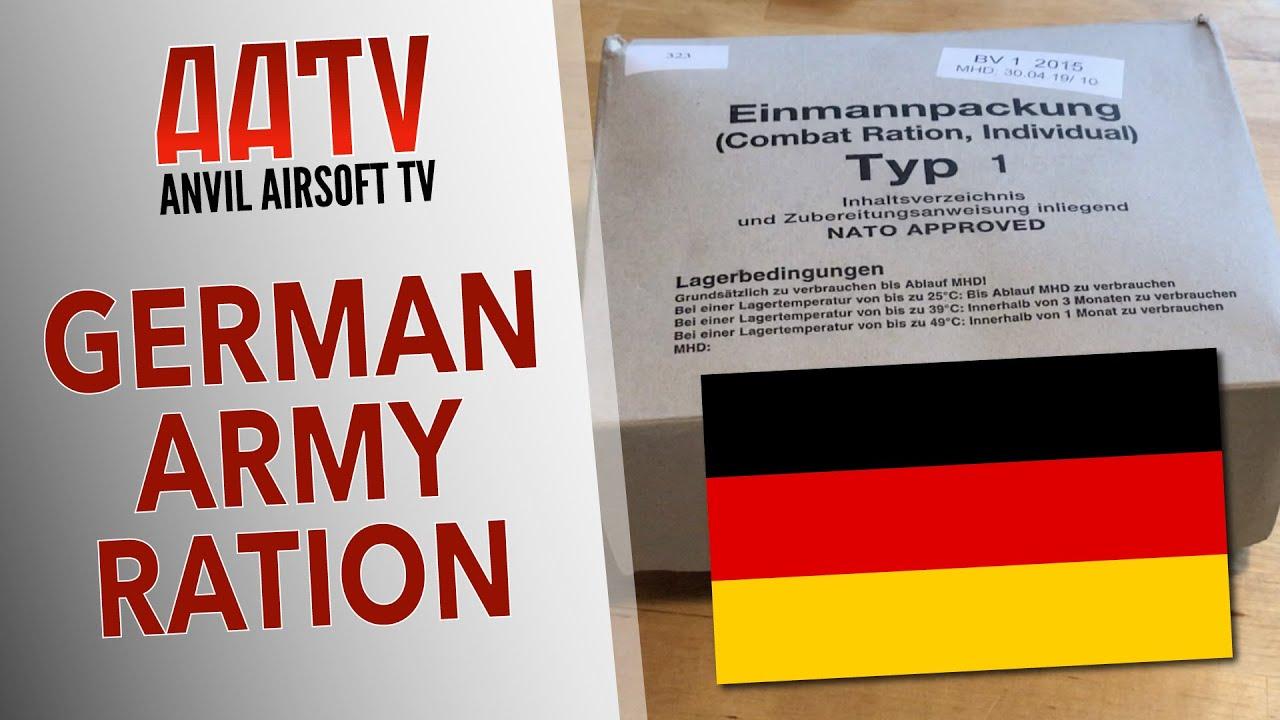 Examen du pack de rationnement allemand   AATV EP102