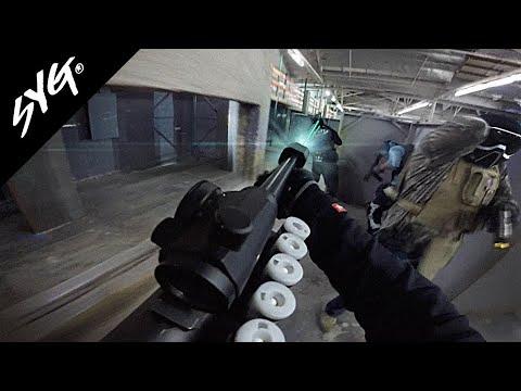 Fusils SYG Airsoft avec Tracers feat. DJ et Sosa | TM M870 Breacher avec PCU Tracer | SpeedQB