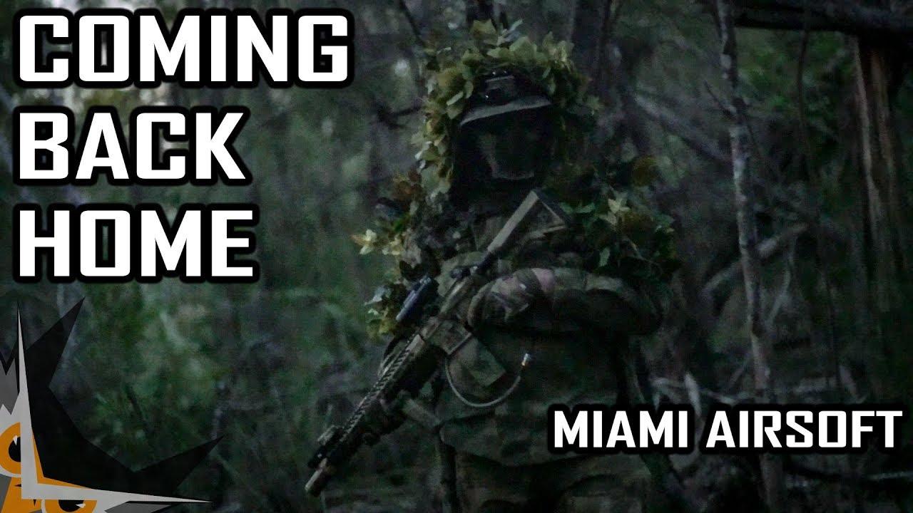 Revenir à la maison | Miami Airsoft Gameplay