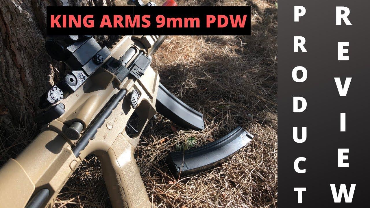 King Arms 9mm PDW Courte critique de produit
