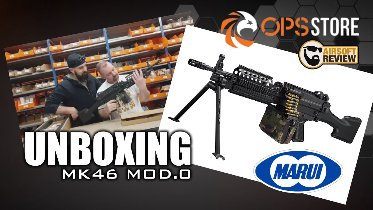 [FR] UNBOXING MK46 MOD.0 TOKYO MARUI # OPS-STORE / AIRSOFT REVIEW